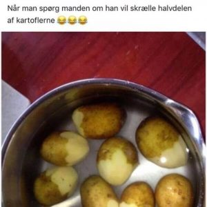kartofler - far humor